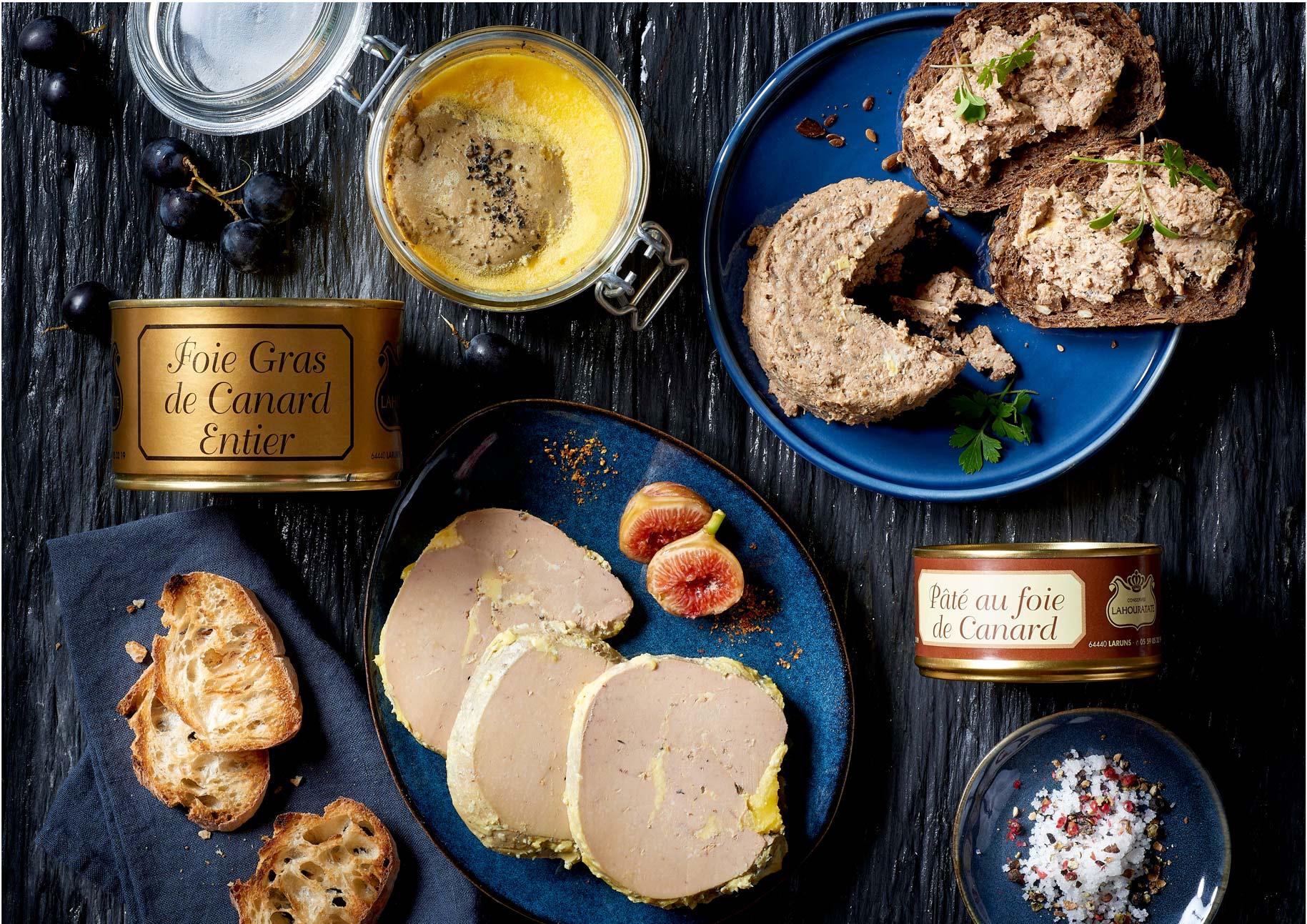 Foies gras de la Maison Lahouratate