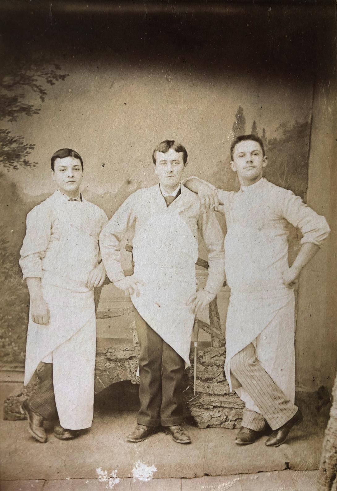 La famille Lahouratate, salaisonniers de père en fils