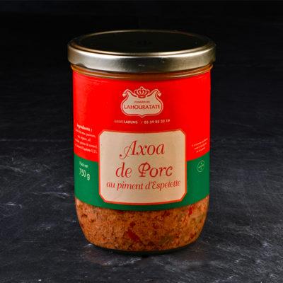 Axoa de Porc au Piment d'Espelette de la Maison Lahouratate