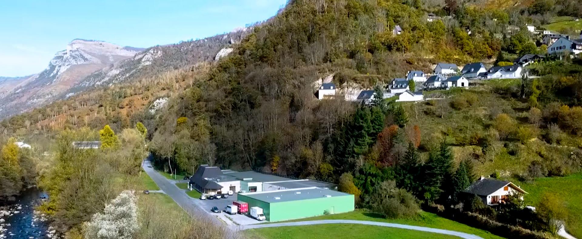 La Maison Lahouratate située à Laruns
